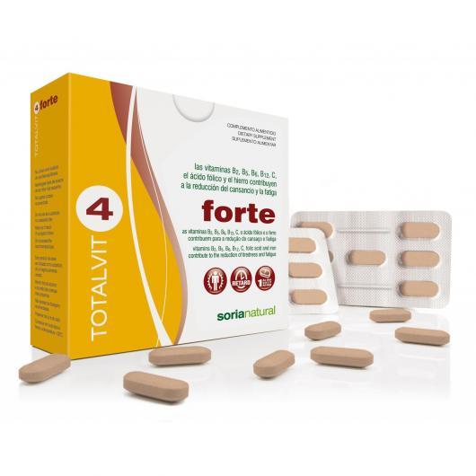 Totalvit 4 Forte Soria Natural, 28 comprimidos