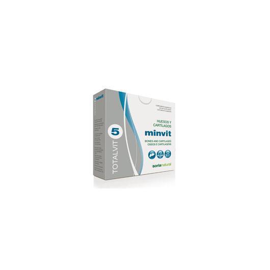 Totalvit 5 Minvit Soria Natural, 60 comprimidos