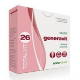 Totalvit 26 Generavit Soria Natural, 28 compresse
