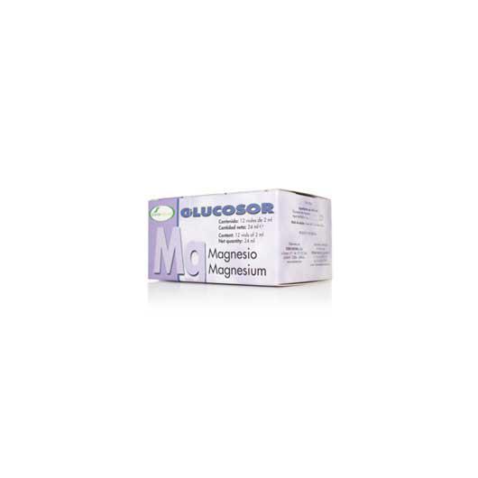 Glucosor Magnesio Soria Natural, 12 viales