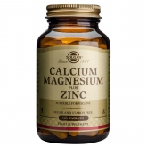 Cálcio e de magnésio, de zinco Solgar 100 comprimidos