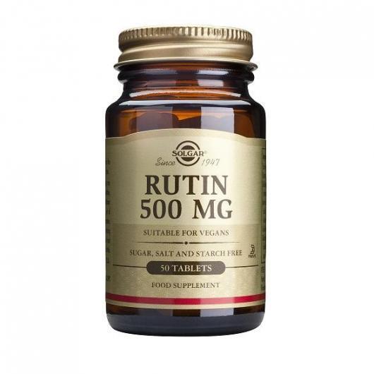 Rutin 500 mg Solgar, 50 compresse