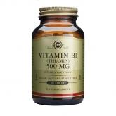 Vitamina B1 500 mg (Tiamina) Solgar, 100 comprimidos