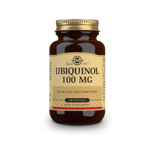 Ubiquinol 100 mg Solgar, 50 capsule softgel