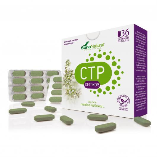 CTP Detoxor Soria Natural, 36 comprimidos