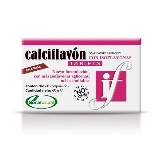 Calciflavón Soria Natural, 60 tabletas