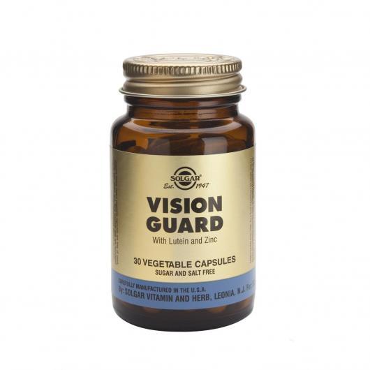 Vision Guard Solgar, 30 gélules végétales