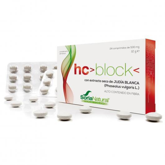 HC Block Soria Natural, 24 comprimidos