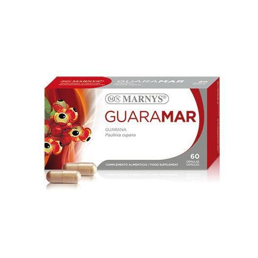 Guaraná 500 mg Marnys, 60 cápsulas