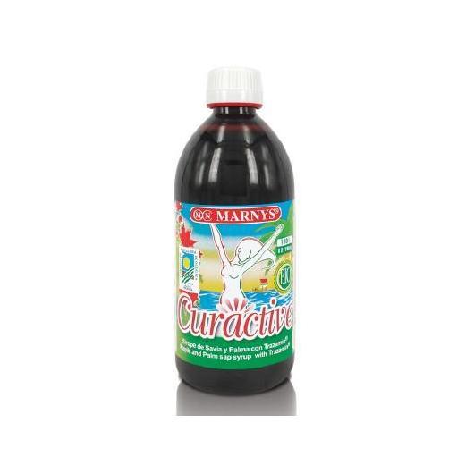 Curactive Sirop d'érable et de palme bio Marnys, 500 ml