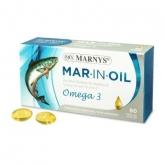 Huile de saumon Mar-Inoil 500 mg Marnys, 60 gélules