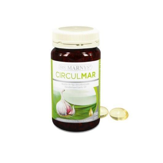 Huile d'ail Circulmar 500 mg Marnys, 150 gélules
