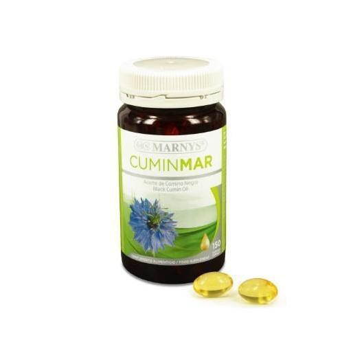Cuminmar Olio di Cumino Nero 500 mg Marnys, 150 capsule