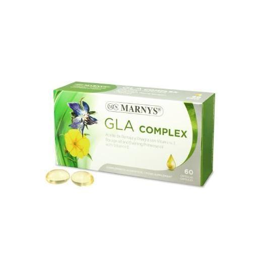 GLA Complex 510 mg Marnys, 60 cápsulas
