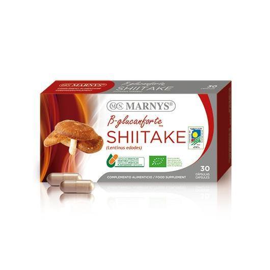 Shiitake BIO. Linea B-glucanforte Marnys, 30 cápsulas