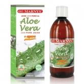 Jugo de Aloe Vera 100% Puro Marnys, 500 ml
