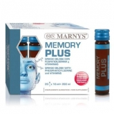 Memory Plus Marnys, 20 flacons x 10 ml
