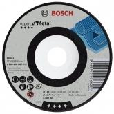 Disco de desbaste con centro rebajado Bosch para amoladora 115 mm para metal