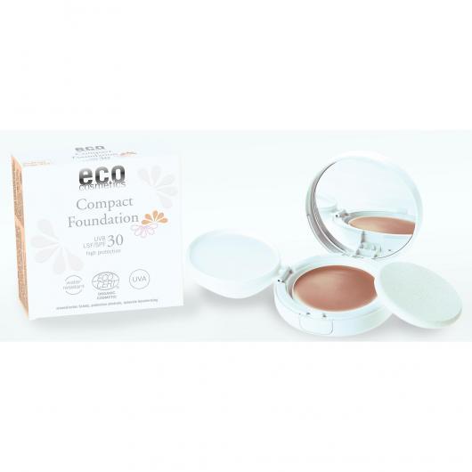 Fond de teint avec protection solaire SPF 30 EcoCosmetics, 10 g