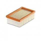 Filtre plat en papier plié Karcher pour MV 4, MV 5 et MV 6