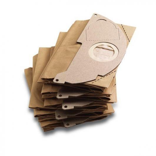 Pack de 5 sacs filtres Karcher pour A 20xx, WD 2xxx et MV 2