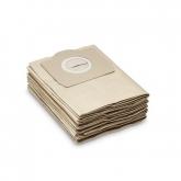 Pacote de 5 sacos de filtro Karcher WD 3xxx e MV 3