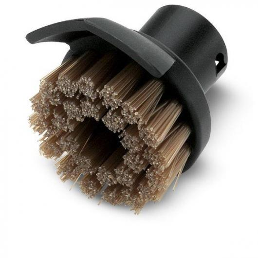 Brosse circulaire avec grattoir Karcher pour nettoyeurs vapeur
