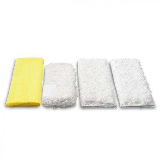 Pack de 4 chiffons en microfibre Karcher pour le nettoyage de la cuisine