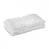 Pack of 2 panos de microfibra para limpeza de pisos Karcher