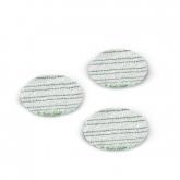 Pack de 3 cepillos de esponja Karcher para parqué laminado