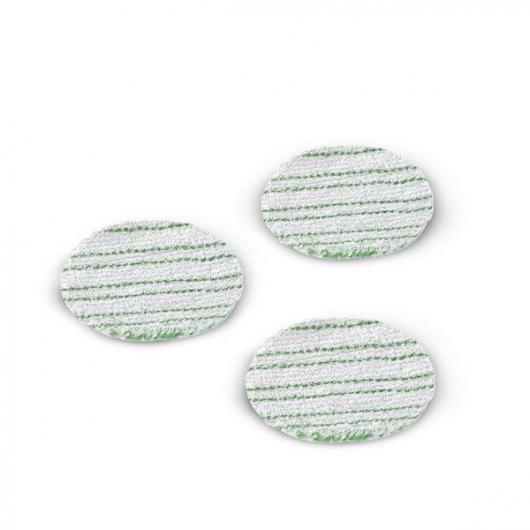 Confezione da 3 pennelli di spugna per parquet laminato Karcher