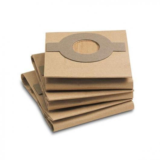Confezione da 3 sacchetti filtro di carta Karcher