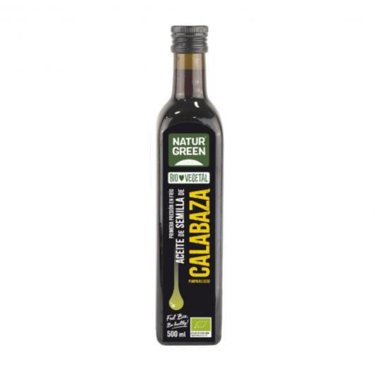 Aceite de Semillas de Calabaza Bio NaturGreen, 500 ml