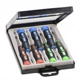 Set profesional de 7 destornilladores de precisión KWB