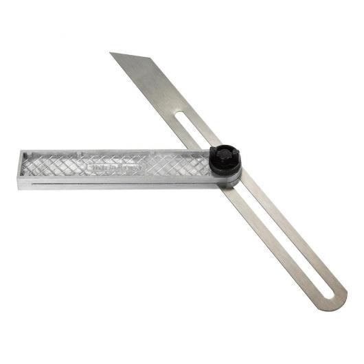 Cartabón de aluminio 250 mm KWB