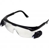 Óculos de segurança com duas lâmpadas de LED KWB