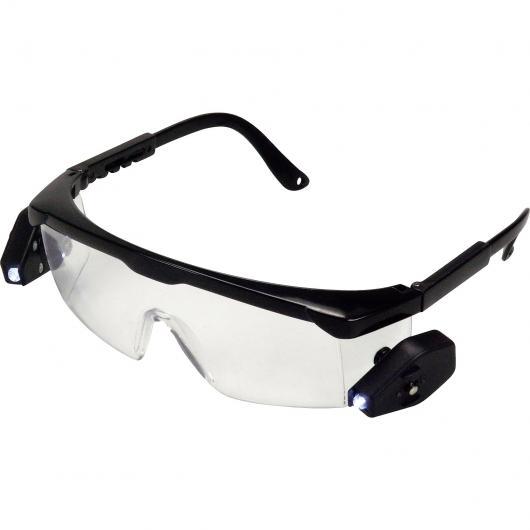 Gafas de seguridad con dos lámparas LED KWB