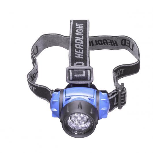 Torcia / frontale 7 LED per la testa Kraftixx