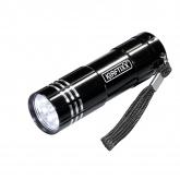 Lampe de poche avec 9 LED Kraftixx