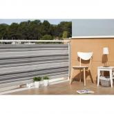 Brise-vue en maille pour balcon Quality gris