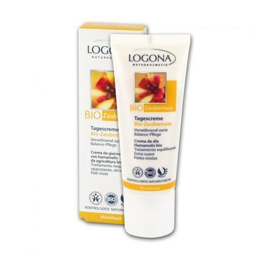 Crème de jour à l'hamamélis bio Logona, 40 ml