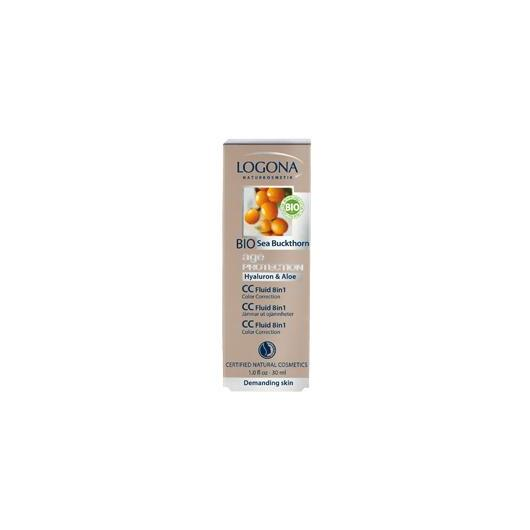 CC Fluido 8 en 1 age protection Logona, 30 ml