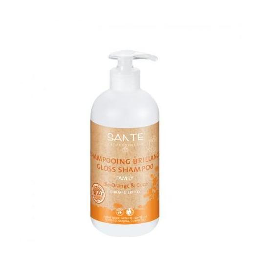 Shampoo brillante Arancia e Cocco Sante, 500 ml