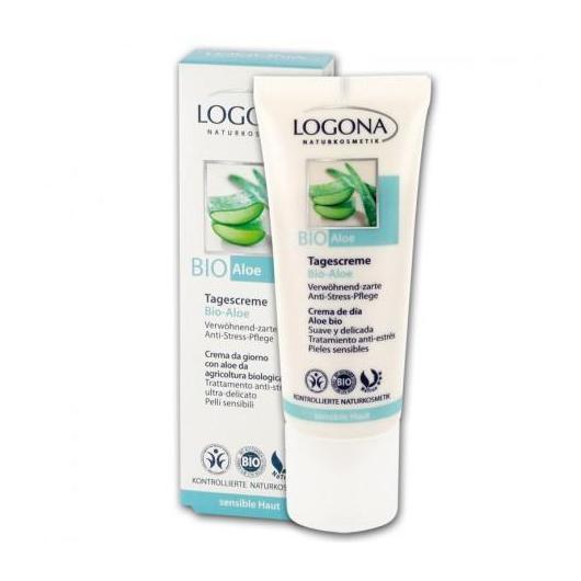 Crème de jour à l'aloe bio Logona, 40 ml