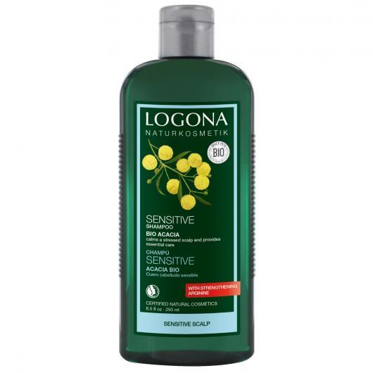 Shampoo sensitive Acacia Logona, 250 ml