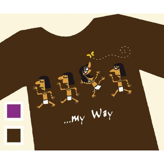 T-shirt MY WAY - Uomo