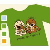Camisética SOMOS DE COLORES - Infantil
