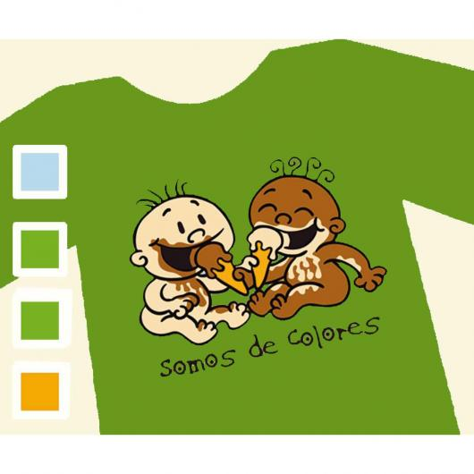 T-shirt SOMOS DE COLORES - Donna