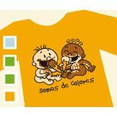 T-shirt SOMOS DE COLORES - Uomo