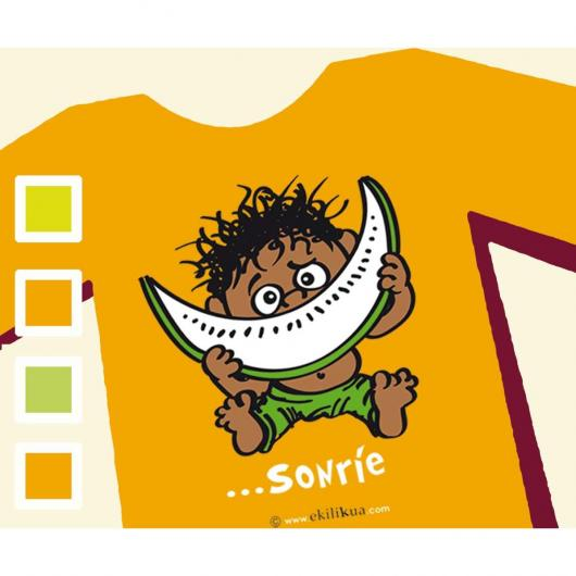 T-shirt SONRIE - Bambino